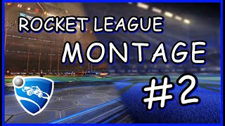 Rocket League  - Dribble, Save & Goals #2