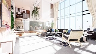 Unreal Engine 4 - Luxury Duplex Loft 4K 60fps
