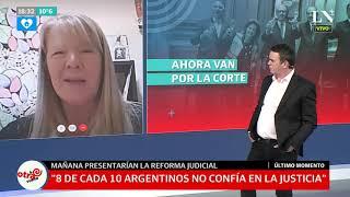 Reforma judicial, ¿nueva impunidad para CFK?