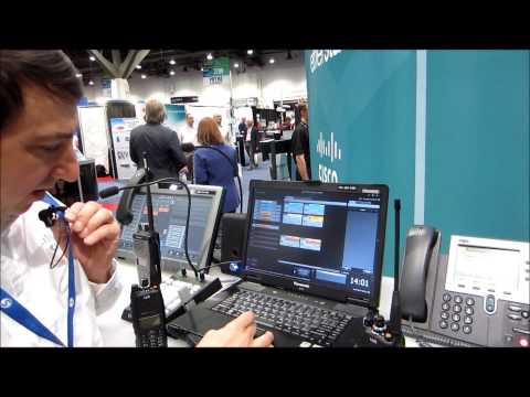 IP-Trade Cisco VoIP-RoIP Solution for Dispatch Communications at IWCE
