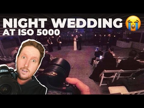 WEDDING PHOTOGRAPHY TIPS AT NIGHT | BEHIND THE SCENES ON CAMERA FULL WEDDING DAY