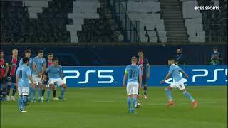 Riyad Mahrez - Smart Freekick Goal Vs PSG