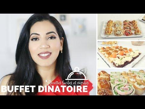 Recettes d'apéritifs & Buffet dînatoire (Facile et rapide)