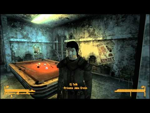 Fallout New Vegas The Strip part 13 of 17 NCR Embassy part 1 of 2 Staff and Notes