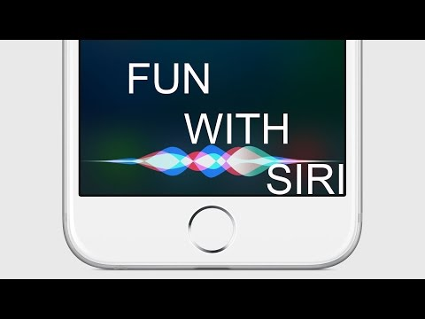 Fun With Siri On Iphone Plus Hd