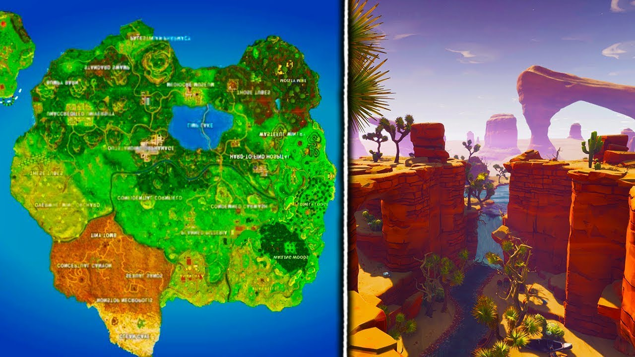 All New Season 5 Locations Names Leaked Fortnite Battle Royale