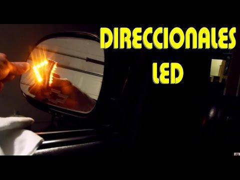 Instalacion de luces led direccionales en los espejos parte 1