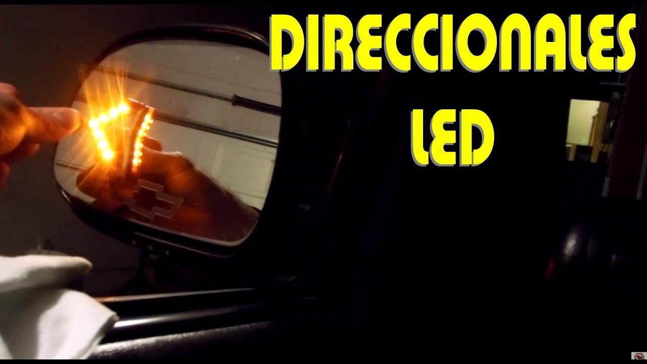 Instalacion De Luces Led Direccionales En Los Espejos