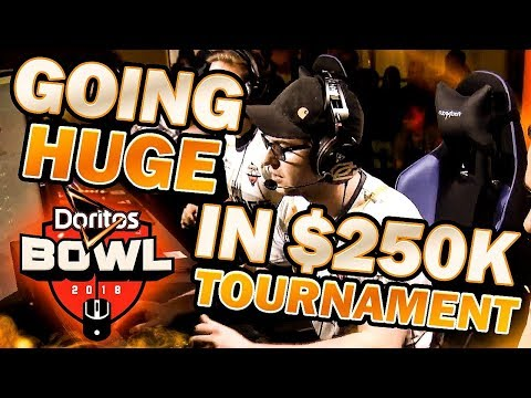 GOING HUGE IN $250,000 TOURNAMENT!! Doritos Bowl (COD: Blackout)