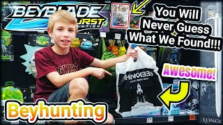 WE FOUND IT! Beyhunting Score at the Mall! Beyblade Burst Toy Hunting & Unboxing - Hasbro Toys