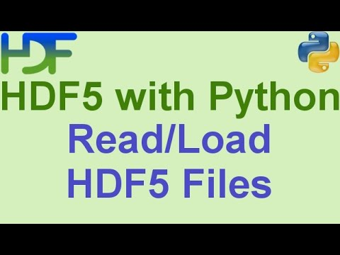 4/10- HDF5 with Python: How to Read HDF5 Files