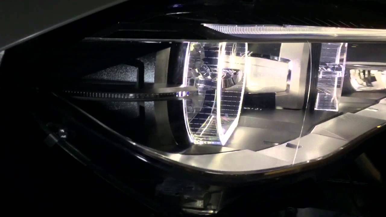 Bmw F15 F16 X5 X6 Adaptive Led Headlights Retrofit Youtube