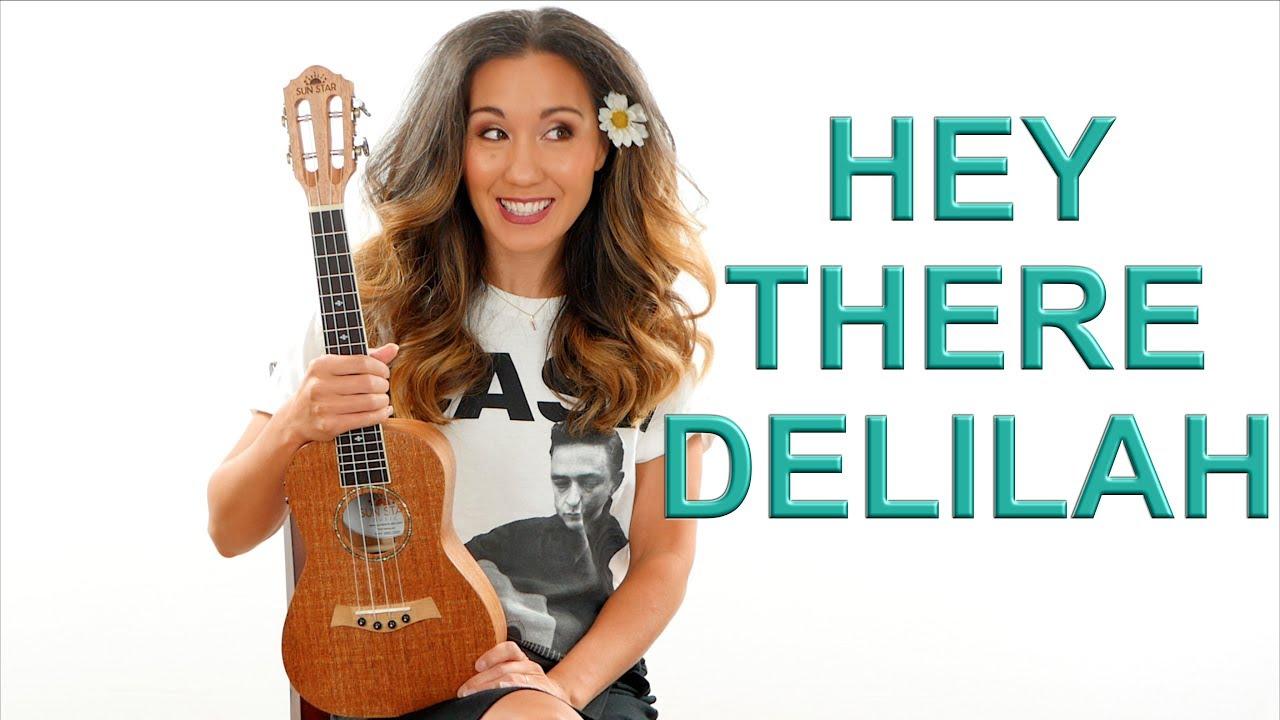 Hey There Delilah Easy Ukulele Fingerpicking Tutorial with Play Along