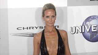 Lady Victoria Hervey NBCUniversal Golden Globes 2016 Afterparty Red Carpet