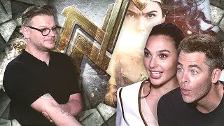 """THIS IS SO COOL!"" GAL GADOT AND CHRIS PINE SHOCKED BY INTERVIEWER´S DEDICATION TO HIS ART"