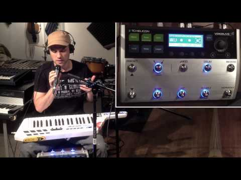 How to control the VoiceLive 3 Harmonizer with midi