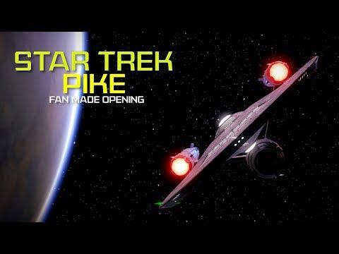 Star Trek Pike - Fan Made Opening | Made In Star Trek Online