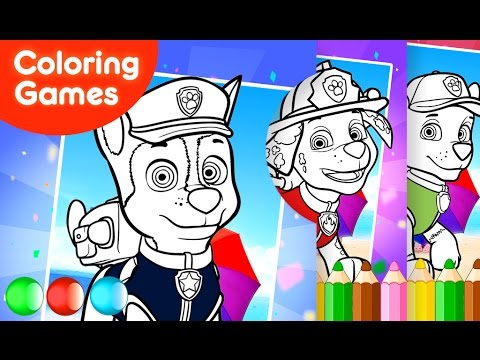 Färbung Spiele Kostenlos Malvorlagen Paw Patrol Für Kleinkinder