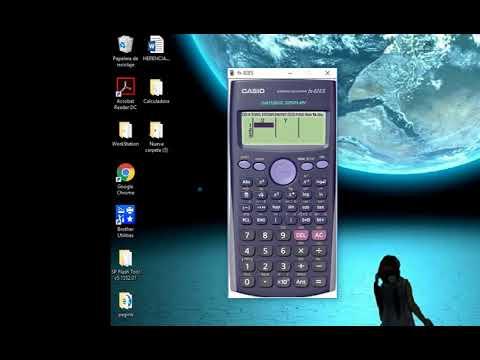 Manual De Calculadora Casio Fx 82es Youtube