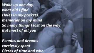 Most of all you (with lyrics) - Bill Medley