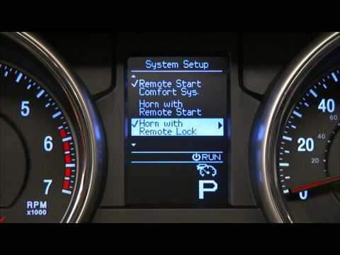 2013 Jeep Grand Cherokee | Vehicle Information Center (EVIC)