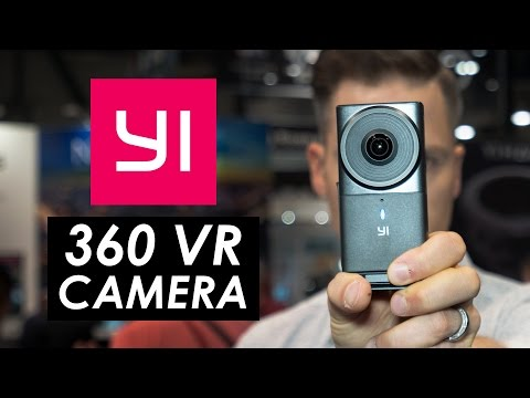 Yi 360 VR Camera First Look — Live Stream Ready VR Camera
