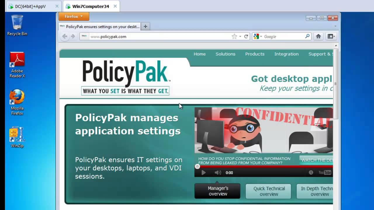 policypak manage firefox using group policy sccm or your own management tool