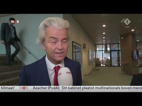 Eerste reactie Geert Wilders op regeerakkoord Rutte III