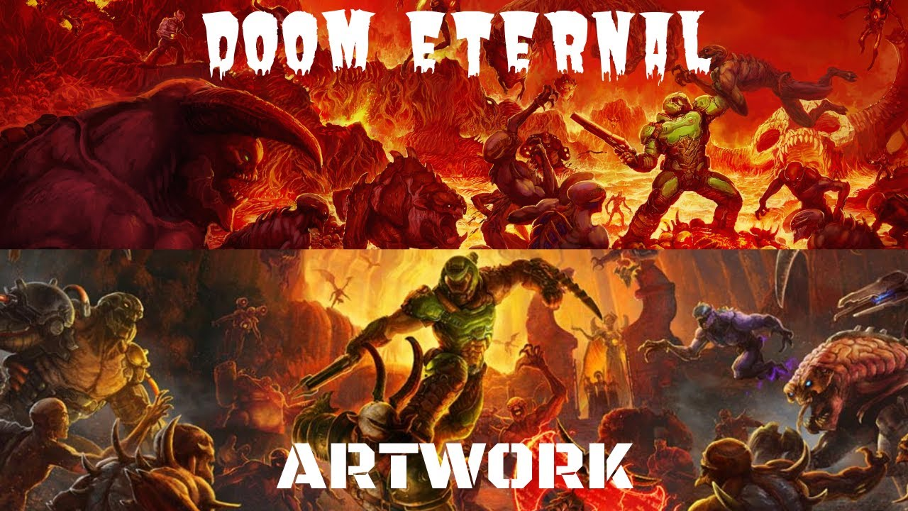 Art Of Doom Eternal 2020 Youtube
