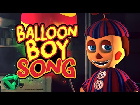 "BALLOON BOY SONG By iTownGamePlay - ""La Canción de BB de Five Nights at Freddy's"""