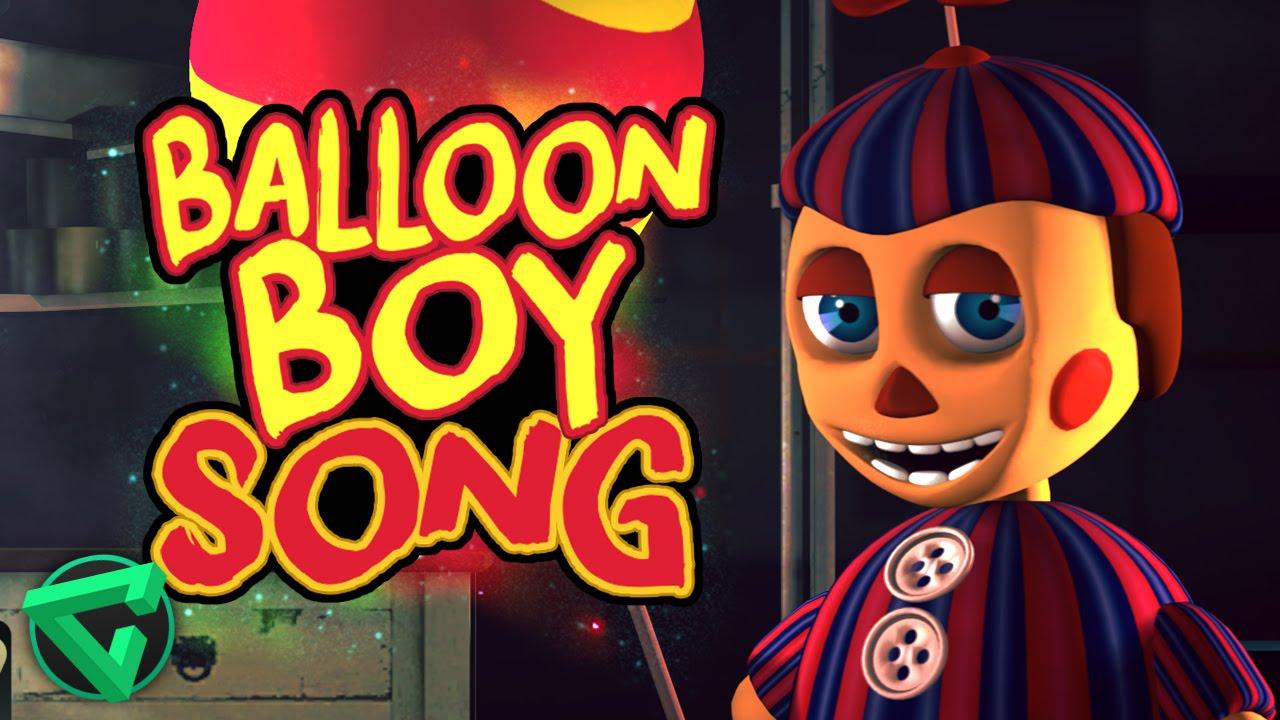 balloon boy song by itowngameplay quotla canci243n de bb de