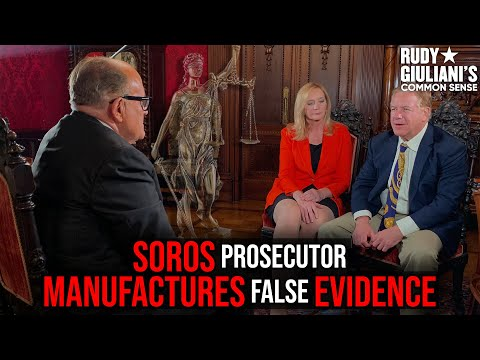 SOROS Prosecutor Manufactures False Evidence, McCloskey EXCLUSIVE Part II | Rudy Giuliani | Ep. 70