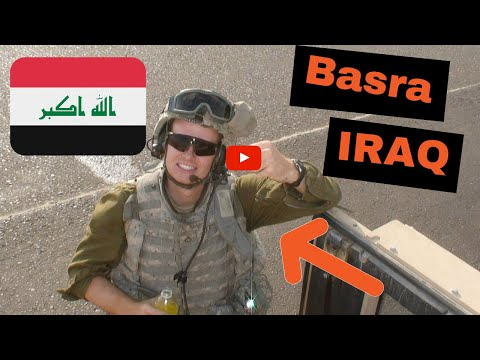 Basra, Iraq(العراق)------ April 6th, 2008---82nd Airborne Patrol Mission
