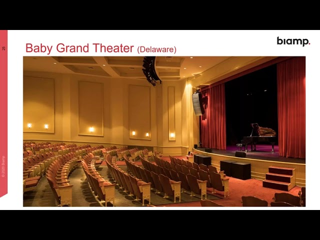 Biamp Community Systems for Performance Venues