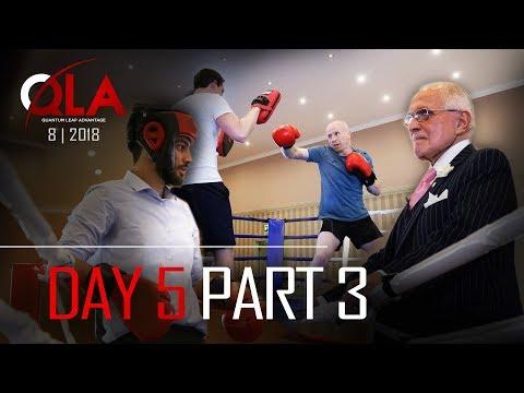 Day 5 Part 3 BOXING FULL VERSION | August 2018 | Dan Peña QLA Castle Seminar