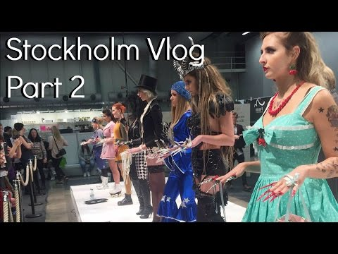 Stockholm Vlog 2: 3D Nail art competition, awards, chocolate, thoughts