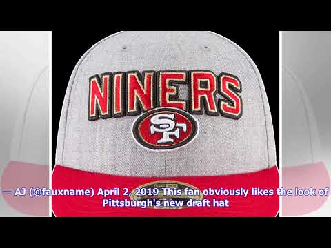 3c15df29d Fan reaction to Steelers 2019 NFL Draft hat - YouTube