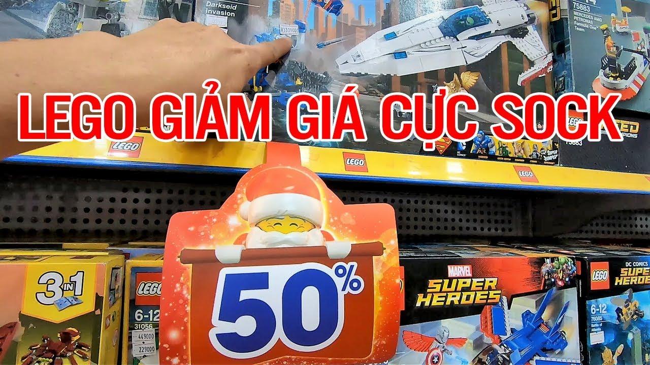 ĐỒ CHƠI LEGO GIẢM GIÁ CỰC SOCK | BKB Channel
