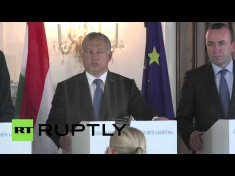 Germany: I'm Bavaria's 'border guard,' declares Orban