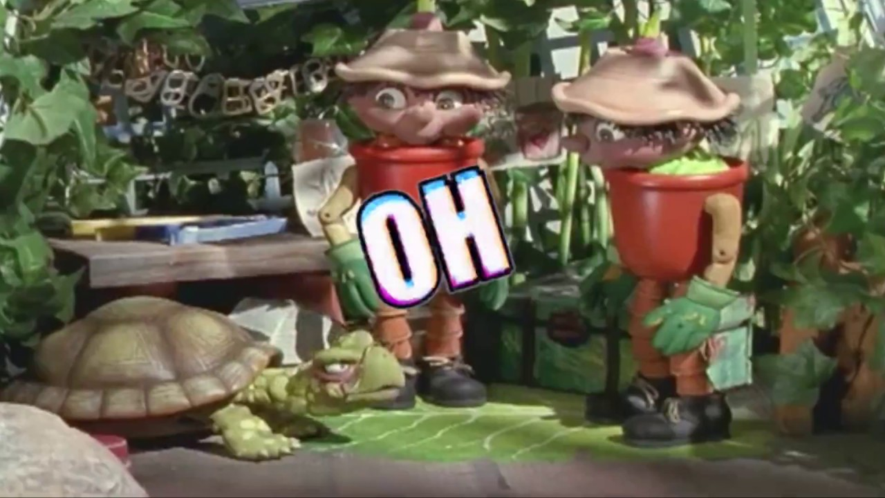 Bill And Ben Flowerpot Men