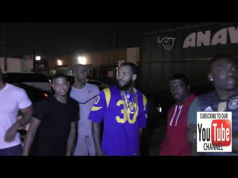The Game talks about his beef with Meek Mill outside Ace Of Diamond Nightclub in West Hollywood