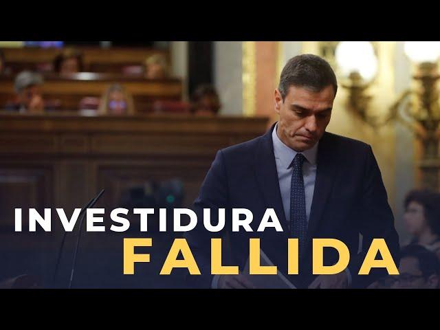 DIRECTO DEBATE DE INVESTIDURA | DISCURSO DE GABRIEL RUFIÁN