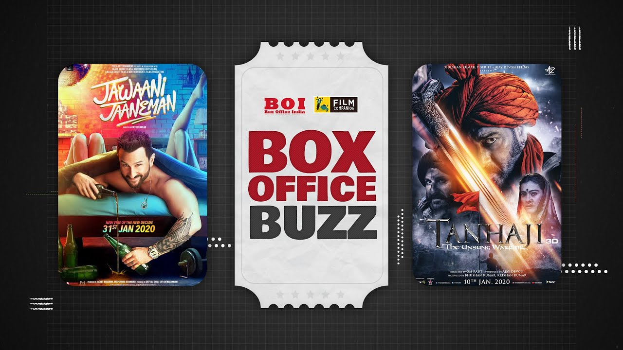 Box Office Of Jawaani Jaaneman | Panga | Street Dancer 3D | Tanhaji | FC Box Office Buzz