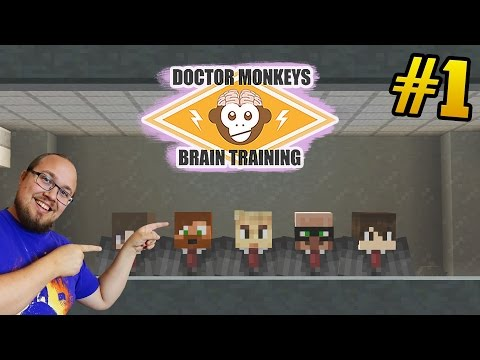 JAG ÄR MED I EN CUSTOM MAP! | Dr Monkeys Brain Training - #1