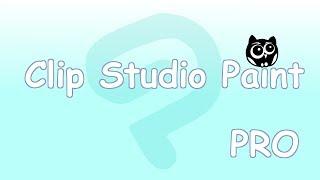 Clip Studio Paint Pro | Основные функции и инструменты