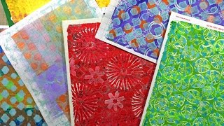 Gelli® Printing Basics - Part 1 of 2