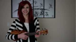 Can't Help Falling In Love Ukulele Cover (Elvis Presley) - Emily's 52 Covers Challenge