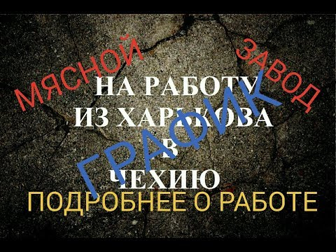 #5 РАБОТА В ЧЕХИИ/ЧЕХИЯ МЯСНОЙ ЗАВОД, ПОДРОБНЕЕ О РАБОТЕ, ГРАФИК.