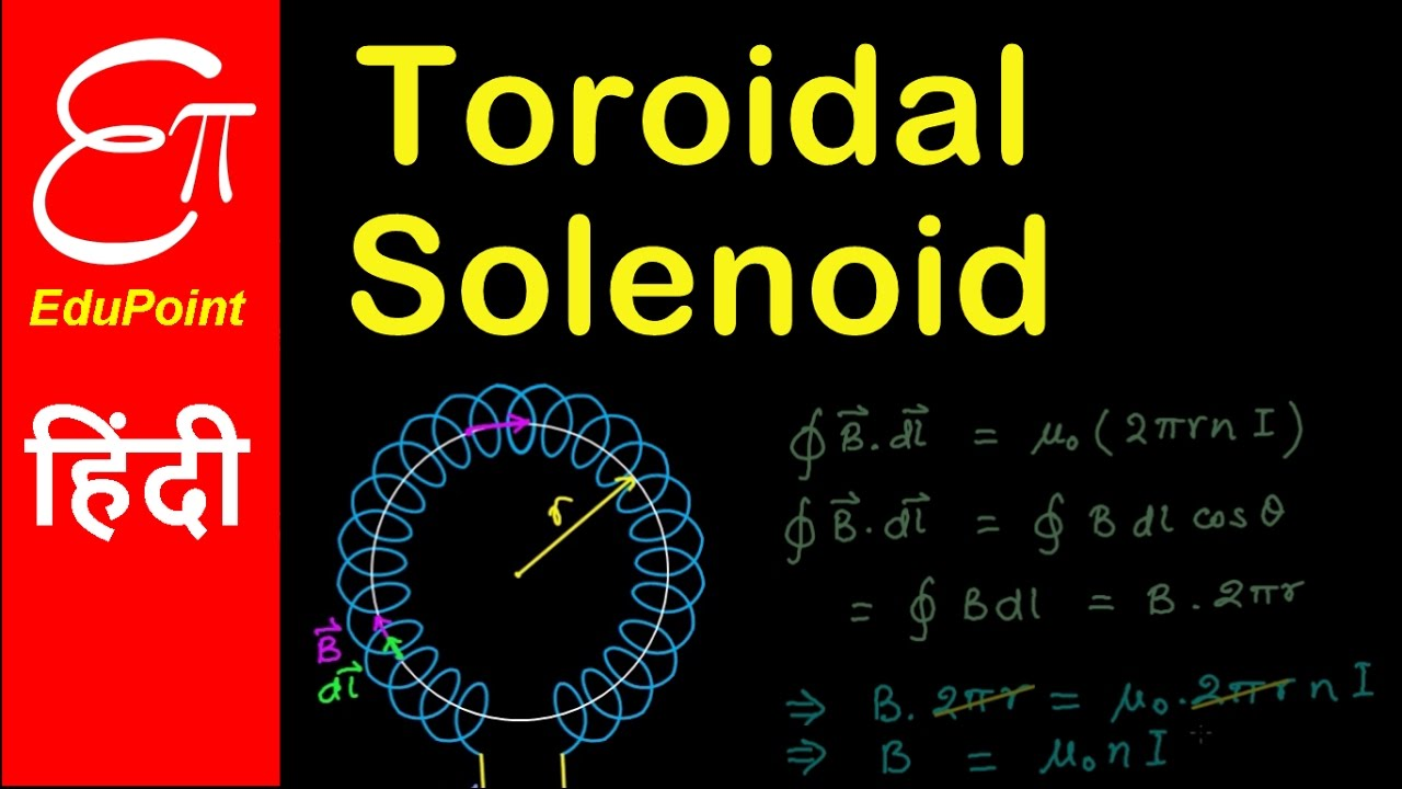 Magnetic field inside a Toroidal Solenoid | Physics in