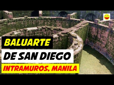 BALUARTE DE SAN DIEGO IN INTRAMUROS, MANILA